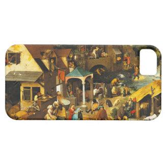 Pieter Bruegel Netherlandish Proverbs iPhone SE/5/5s Case