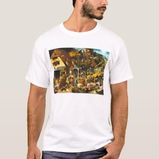 Pieter Bruegel Netherlandish Proverbs T-shirt