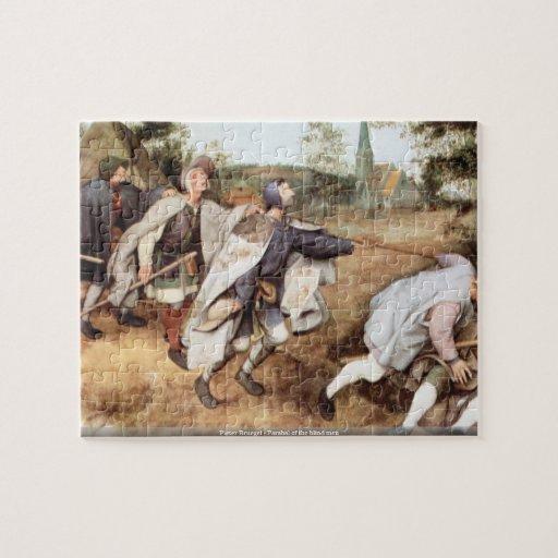 Pieter Bruegel - Parabal of the blind men Jigsaw Puzzles