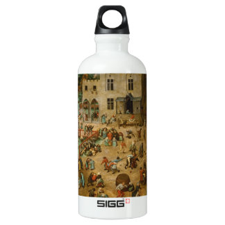 Pieter Bruegel the Elder - Children's Games Aluminum Water Bottle