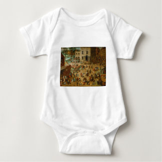 Pieter Bruegel the Elder - Children's Games Baby Bodysuit
