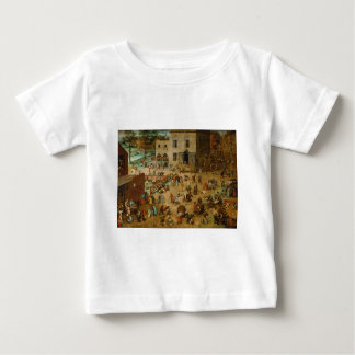 Pieter Bruegel the Elder - Children's Games Baby T-Shirt