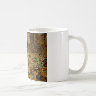 Pieter Bruegel the Elder - Children's Games Coffee Mug