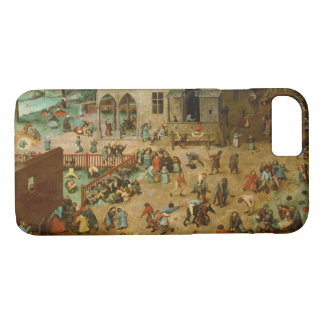 Pieter Bruegel the Elder - Children's Games iPhone 8/7 Case