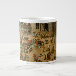 Pieter Bruegel the Elder - Children's Games Large Coffee Mug
