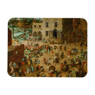 Pieter Bruegel the Elder - Children's Games Magnet