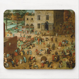 Pieter Bruegel the Elder - Children's Games Mouse Pad