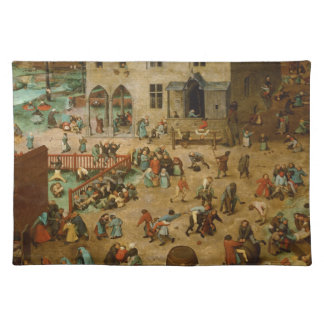 Pieter Bruegel the Elder - Children's Games Placemat