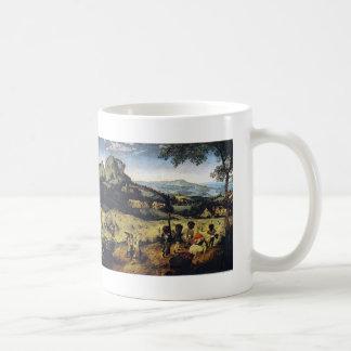 Pieter Bruegel the Elder- Haymaking Mugs