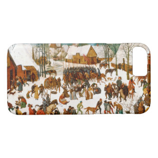 Pieter Bruegel the Elder-Massacre of the Innocents iPhone 8/7 Case