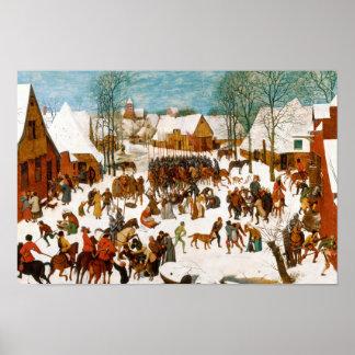 Pieter Bruegel the Elder-Massacre of the Innocents Poster