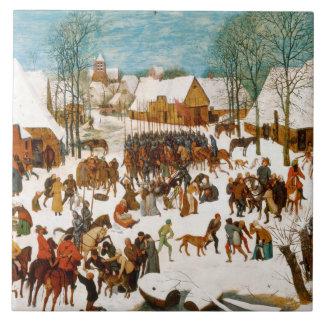 Pieter Bruegel the Elder-Massacre of the Innocents Tile