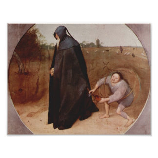 Pieter Bruegel the Elder- Misanthrope Posters