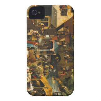 Pieter Bruegel the Elder - Netherlandish Proverbs iPhone 4 Case-Mate Case