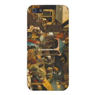 Pieter Bruegel the Elder - Netherlandish Proverbs Cases For iPhone 5