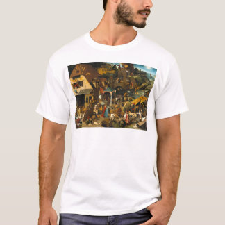 Pieter Bruegel the Elder - Netherlandish Proverbs T-Shirt