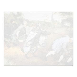 Pieter Bruegel the Elder- Parable of the Blind Customized Letterhead