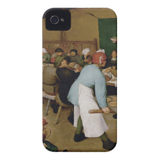 Pieter Bruegel the Elder - Peasant Wedding iPhone 4 Case