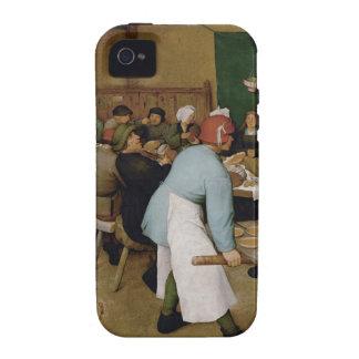 Pieter Bruegel the Elder - Peasant Wedding Case For The iPhone 4