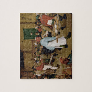 Pieter Bruegel the Elder - Peasant Wedding Jigsaw Puzzle