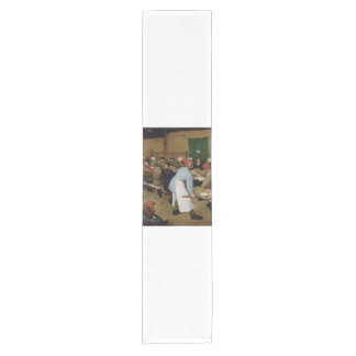 Pieter Bruegel the Elder - Peasant Wedding Short Table Runner