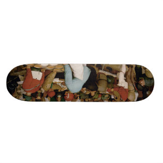 Pieter Bruegel the Elder - Peasant Wedding Skate Deck