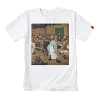 Pieter Bruegel the Elder - Peasant Wedding Zazzle HEART T-Shirt
