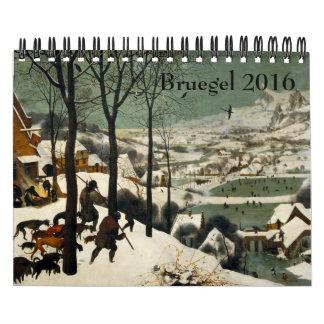 Pieter Bruegel the Elder Small 2016 Calendar
