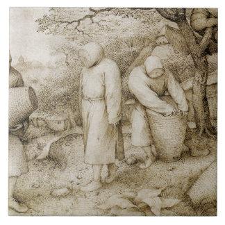 Pieter Bruegel the Elder - The Beekeepers Ceramic Tile