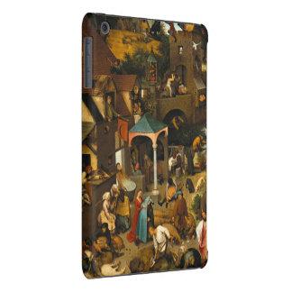 Pieter Bruegel the Elder - The Dutch Proverbs iPad Mini Retina Cover