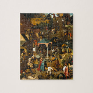 Pieter Bruegel the Elder - The Dutch Proverbs Jigsaw Puzzle