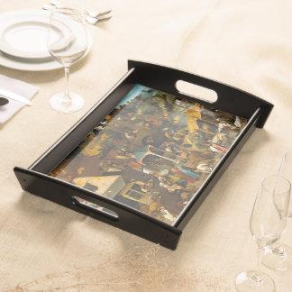 Pieter Bruegel the Elder - The Dutch Proverbs Serving Platter