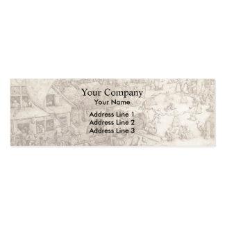 Pieter Bruegel the Elder- The Fair at Hoboken Business Cards