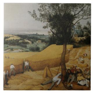 Pieter Bruegel the Elder - The Harvesters Ceramic Tile