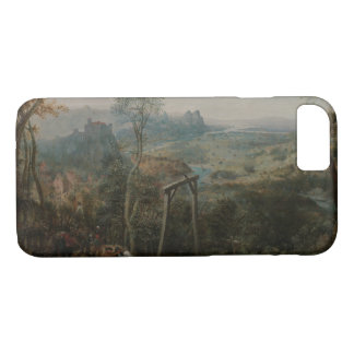 Pieter Bruegel the Elder-The Magpie on the Gallows iPhone 8/7 Case