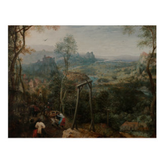 Pieter Bruegel the Elder-The Magpie on the Gallows Postcard