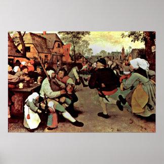 Pieter Bruegel the Elder - The Peasant Dance Posters