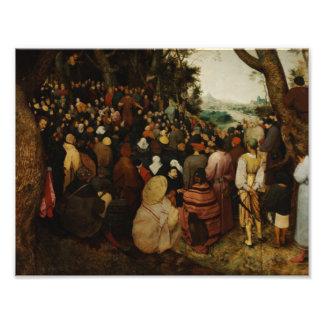 Pieter Bruegel the Elder - The Sermon of St John Photo Print