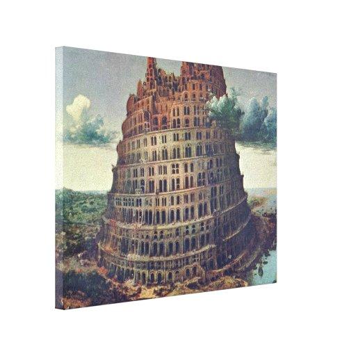 Pieter Bruegel the Elder - The Tower of Babel Canvas Print