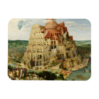 Pieter Bruegel the Elder - The Tower of Babel Magnet