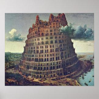Pieter Bruegel the Elder - The Tower of Babel Print