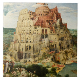 Pieter Bruegel the Elder - The Tower of Babel Tile
