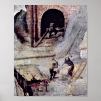 Pieter Bruegel the Elder - Tower of Babel Detail Posters