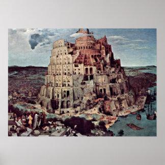 Pieter Bruegel the Elder - Tower of Babel Poster