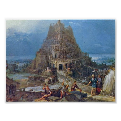 Pieter Bruegel the Elder - Tower of Babel Poster