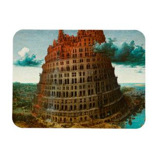PIETER BRUEGEL - The little tower of Babel 1563 Magnet