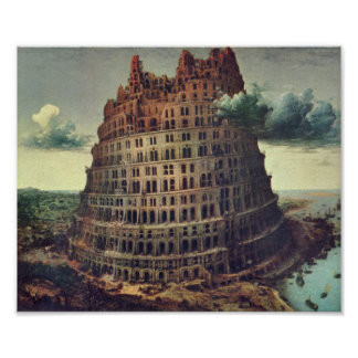 Pieter Bruegel-Tower of Babel Print