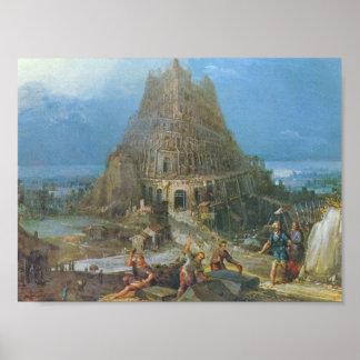 Pieter Bruegel-Tower of Babel Posters