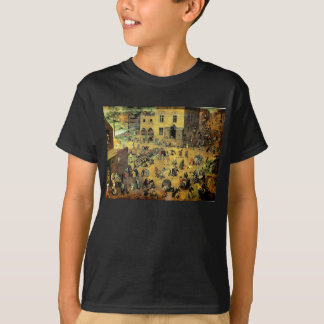 "Pieter Bruegel's ""Children's Games"" - 1560 T-Shirt"