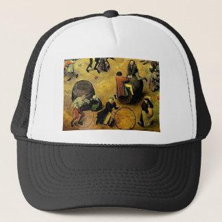 "Pieter Bruegel's ""Children's Games"" (Detail) 1560 Trucker Hat"
